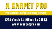 Water Restoration 254-458-0438 A Carpet Pro Killeen Tx