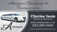 Limo Killeen TX 254-285-8405 Ambiance Limousine And Transportation