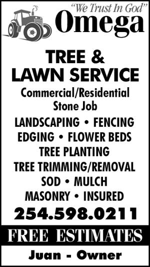 Omega Tree & Lawn Service