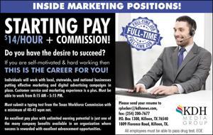 Inside Marketing Positions!