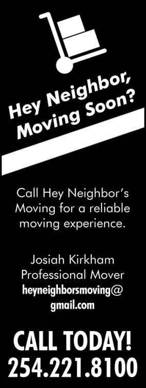 Hey Neighbors Moving