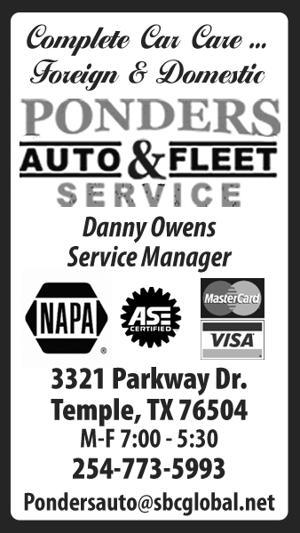 Ponders Auto & Fleet Service
