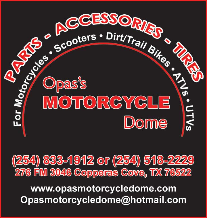 Opa's Motorcycle Dome