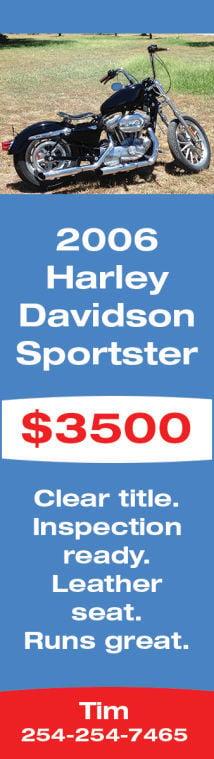 2006 Harley Davidson Sportster $3,500