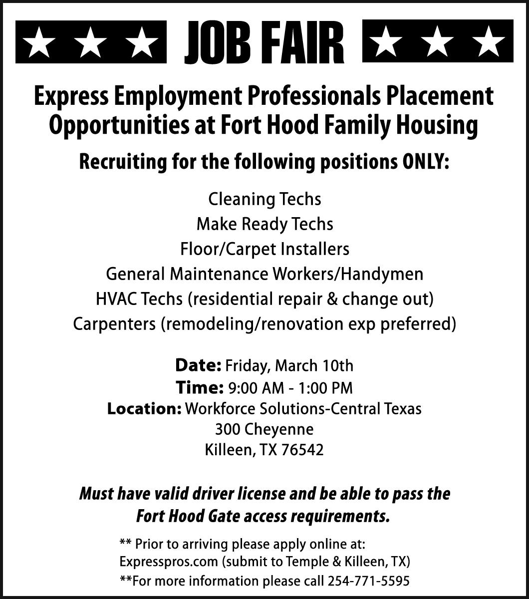 Express Employment Professionals Placement