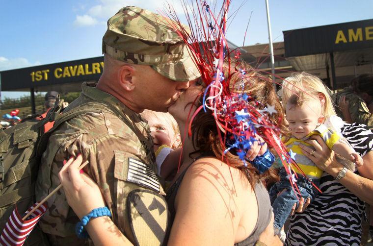 4th Brigade Combat Team homecoming