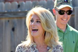 Texas State Senator Wendy Davis visits Killeen