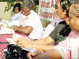 Money raised during annual drive to help those with sickle cell anemia
