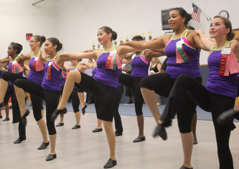 Copperettes perform at 'Show Off' event