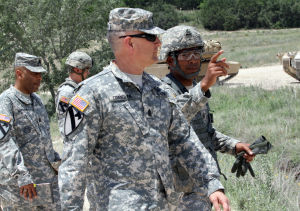 Sergeant Major of the Army at Fort Hood