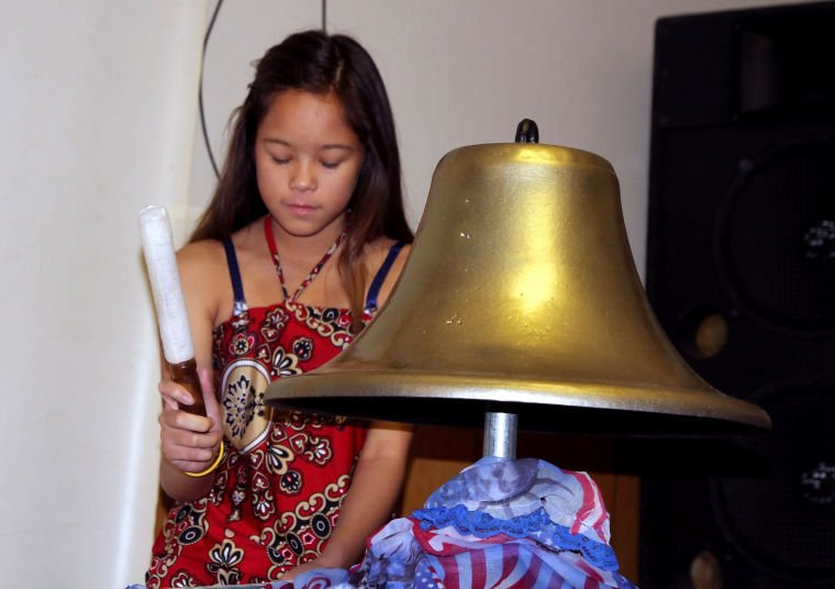 Cove VFW holds bell ringing ceremony