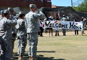 1st Battalion, 44th Air Defense Artillery Regiment Homecoming