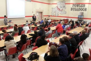 Fowler Elementary School meeting