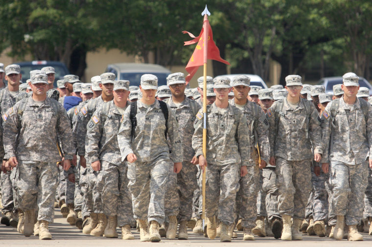 41st Fires Brigade Homecoming Ceremony