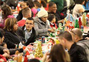USO and Warrior Transition Brigade Christmas Party