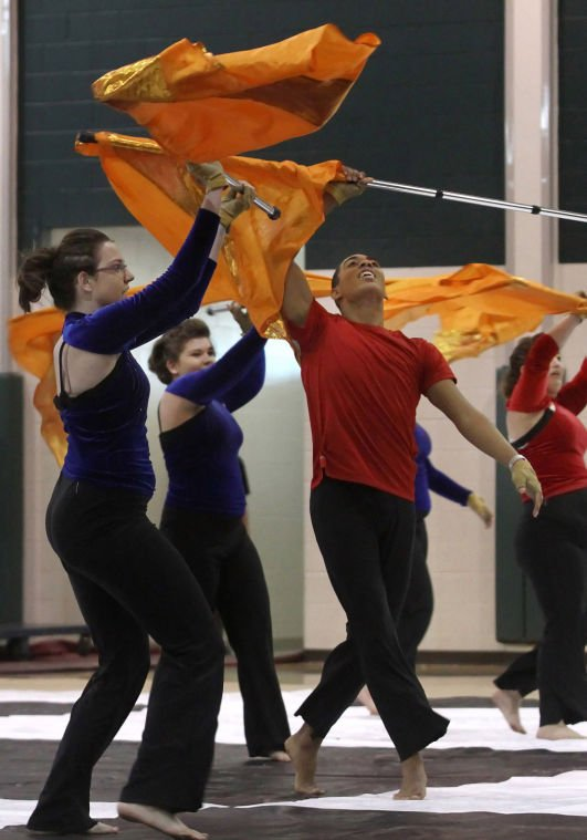 Belton High School Varsity Winter Guard