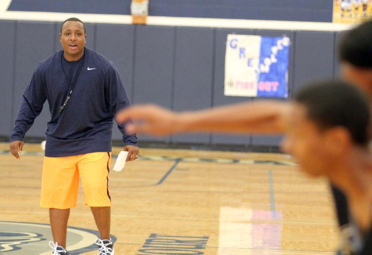 Shoemaker Basketball Coach Edmund Prichett