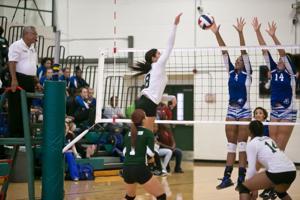 Copperas Cove vs. Ellison Volleyball 9-16-2014
