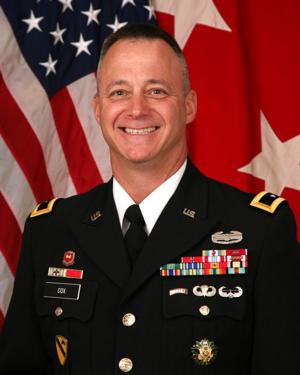 Maj. Gen. Kendall Cox