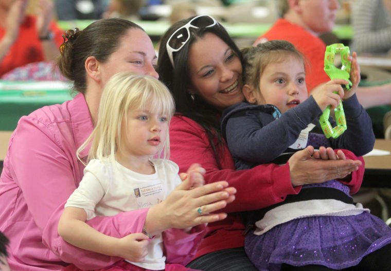 'Tell Me a Story' event at Meadows Elementary School