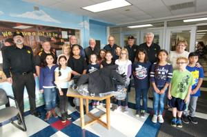 Local Rotary Club donates 50 new coats to Harker Heights Elementary