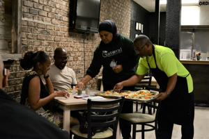 Business treats customers to healthy eating