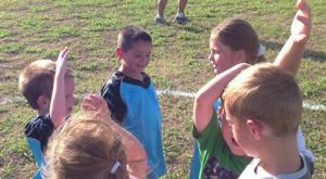 Cove soccer practice