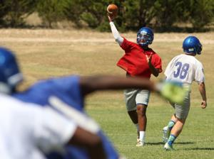 Copperas Cove High School Football Practice