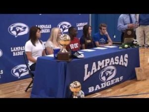 Lampasas Athletes Signs