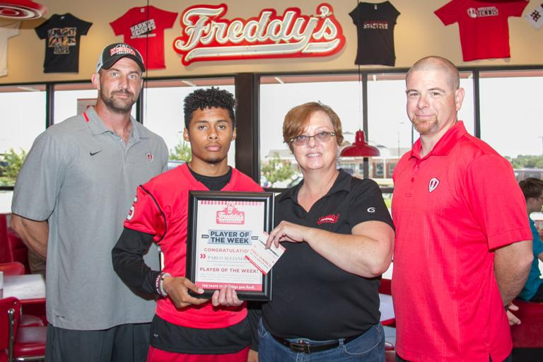 PLAYER OF THE WEEK: Alejandro picked off a big victory for Knights