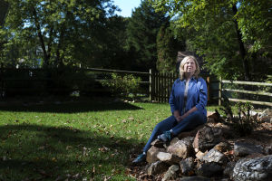 Heart Transplant: Implanted devices helped keep Chris Einhorn active for 17 months until she had heart transplant surgery in August. She was able to leave the hospital nine days after the operation. - Marvin Joseph | The Washington Post