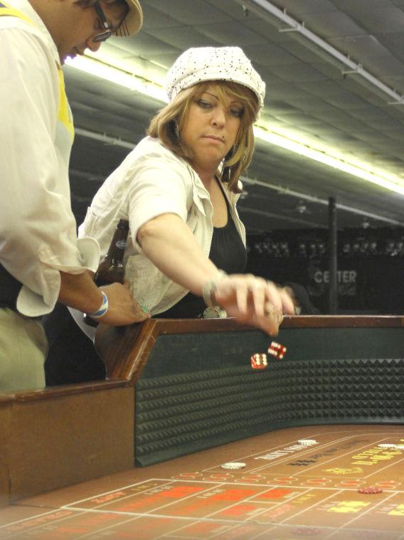 Casino night and hair show