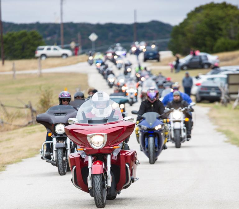 Hundreds ride from Temple to Cove during 24th annual TriCounty Toy Run