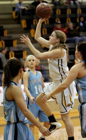 Gatesville vs China Spring Girls Basketball