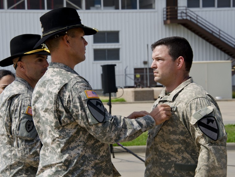 Hollidaysburg native is awarded the Air Medal with Valor