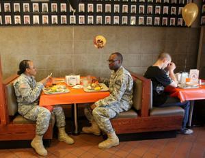 Fort Hood Thanksgiving