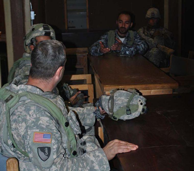 Greywolf Brigade at National Training Center