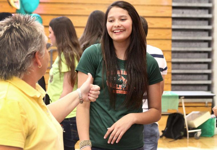 Heights' Volleyball Signing