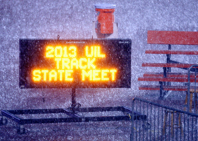 State track meet delayed
