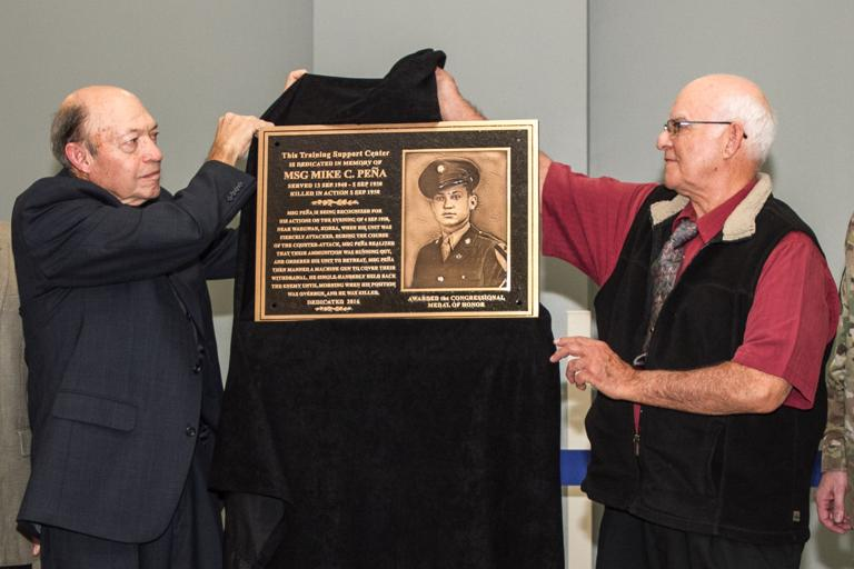 New training center named for First Team Medal of Honor recipient