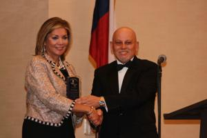 Hispanic-American Chamber of Commerce of Central Texas banquet