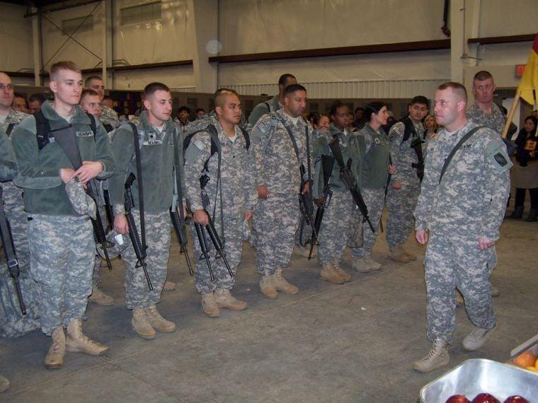 69th ADA troops deploy