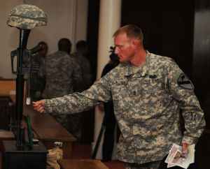 Gone but not forgotten, Cav troops remember fallen Soldier