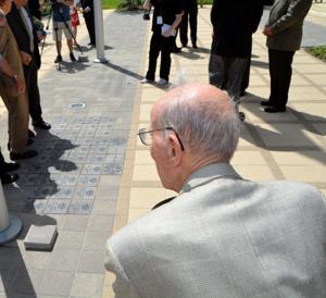 AUSA Paver Ceremony