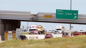 Clear Creek Bridge traffic accident