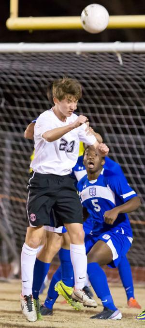 Temple at Harker Heights boys soccer