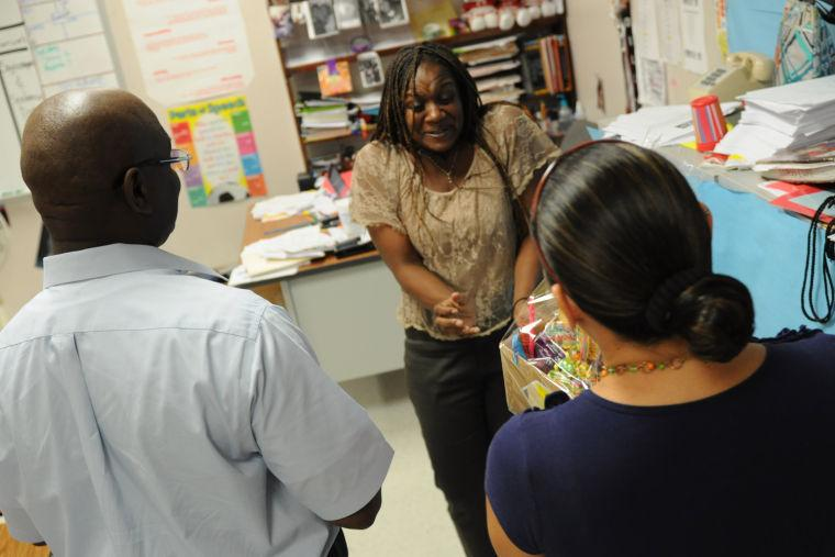 Walmart rewards Manor Middle School teachers