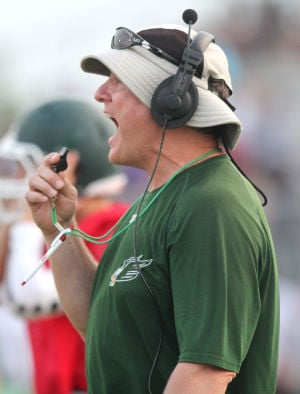 Ellison Football Spring Practice - Bill Farley