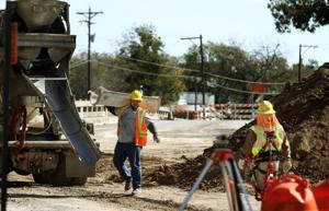 Lampasas Fourth Street Construction
