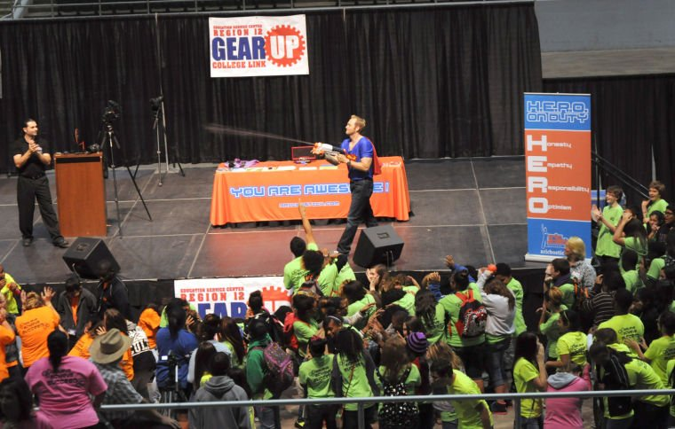 GEAR UP rally